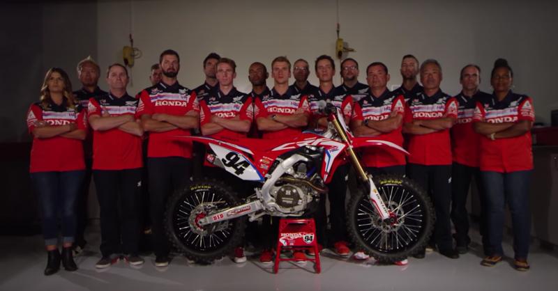2017 Team Honda HRC Team Members