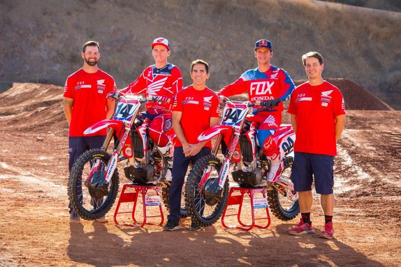 2018 Team Honda HRC Team Members