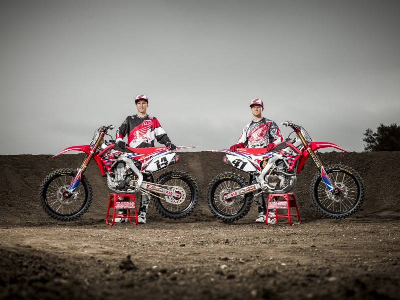 Solid rider line-up for Honda in AMA Motocross 2015