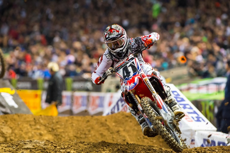 Tomac Tops Phoenix Supercross