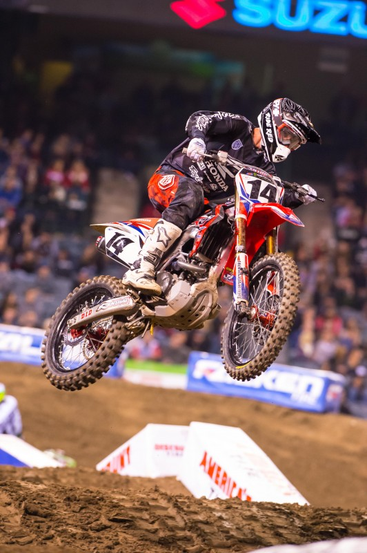 Progress for Seely at Anaheim 2