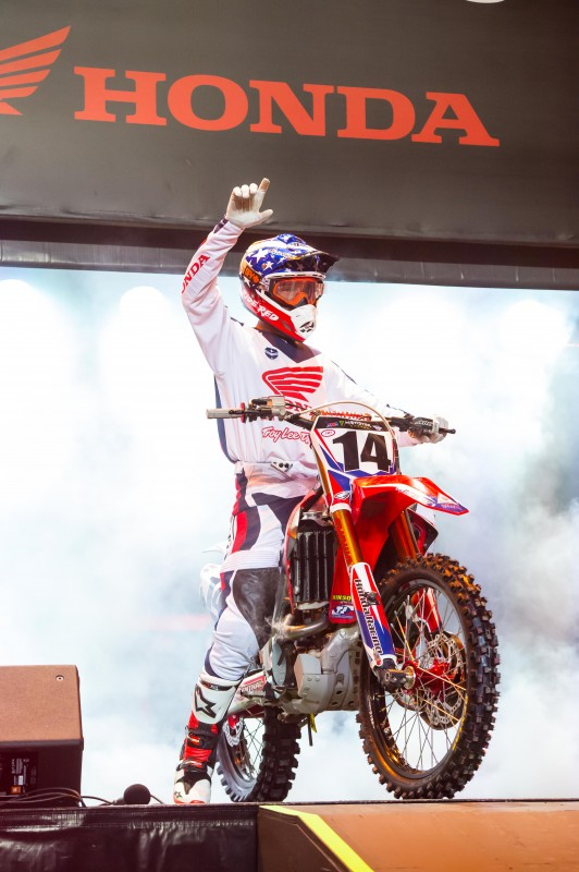 Seely Fourth at Daytona Supercross by Honda