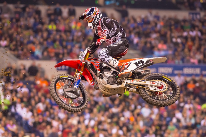 Double Podium for Team Honda HRC in Indianapolis