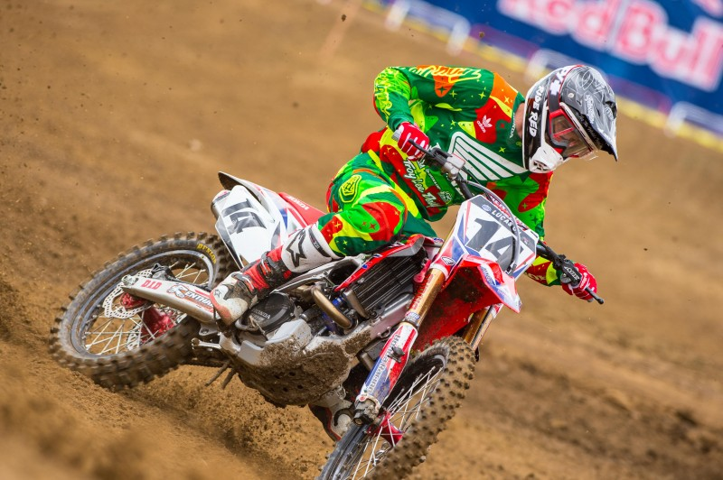 Honda Tops Hangtown MX Opener With Tomac