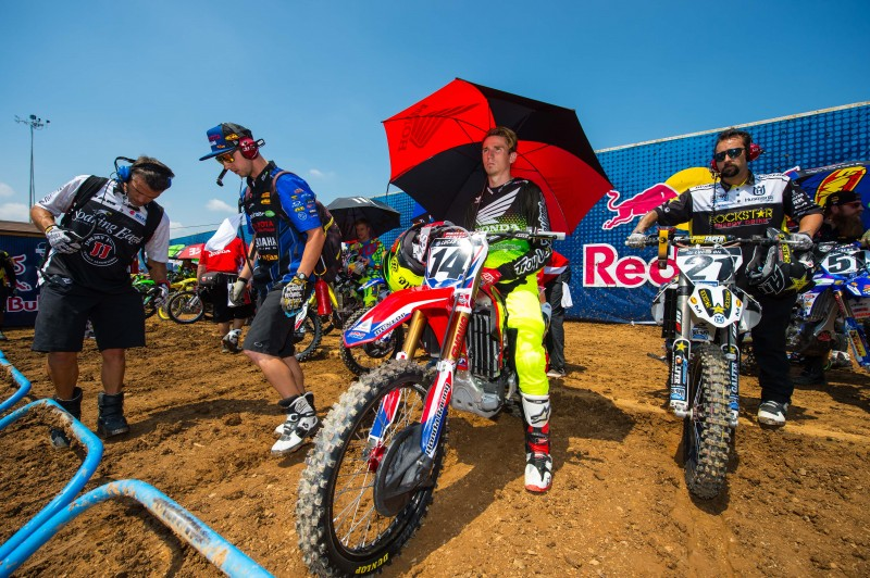 Seely Sixth at Tennessee National MX