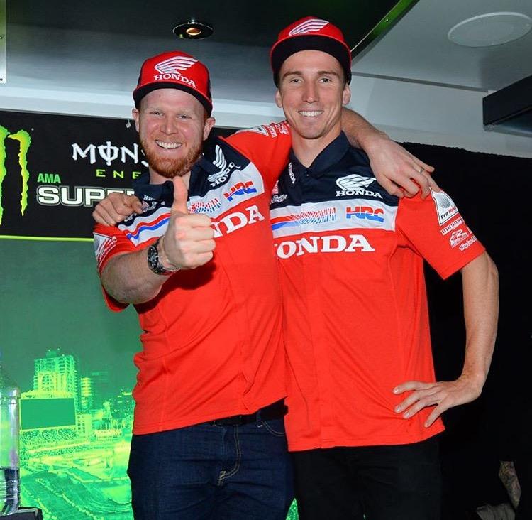 Team Honda HRC Ready to start 2016 Supercross Season