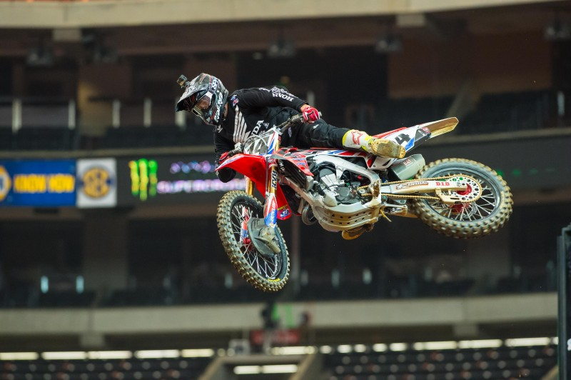 Top 10 Finish for Seely at Atlanta Supercross