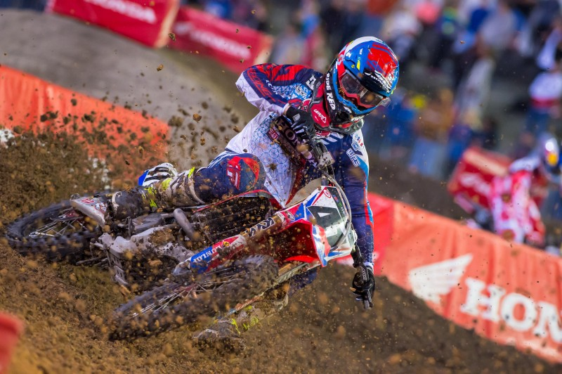 Canard Sixth at Daytona Supercross by Honda