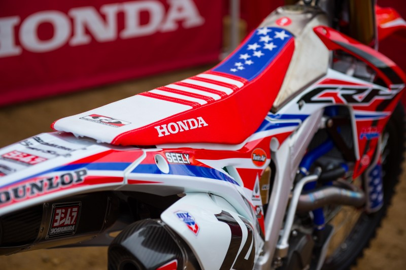 Team Honda HRC Sits Out RedBud National