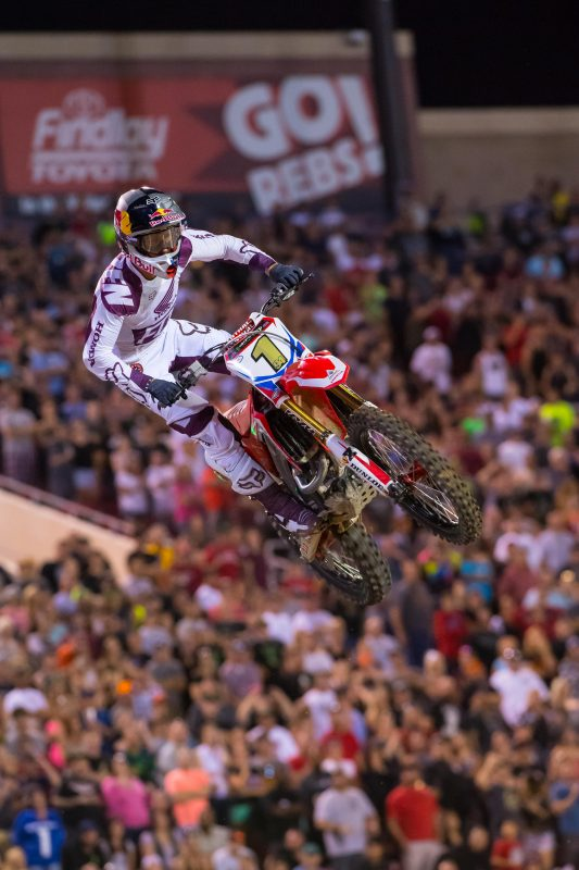 Solid Showing by Team Honda HRC at Monster Energy Cup