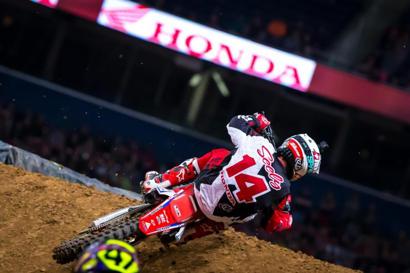 Seely Sixth at St. Louis Supercross