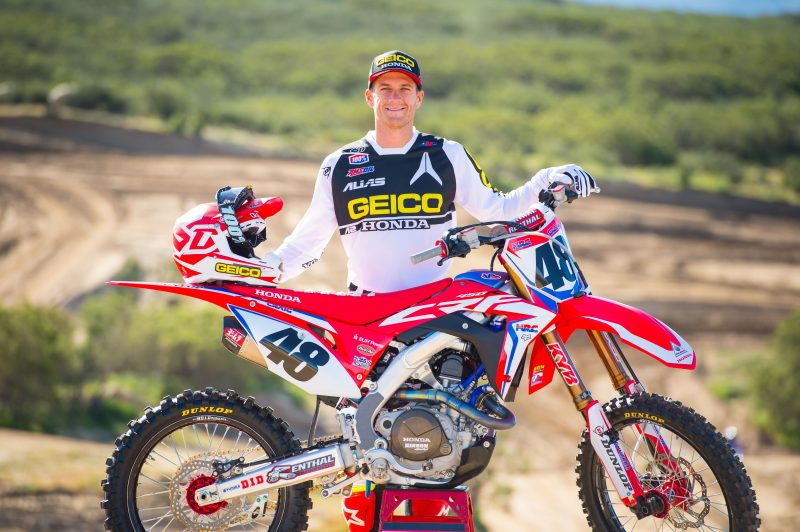 Christian Craig to Fill in for Team Honda HRC During AMA Motocross Series