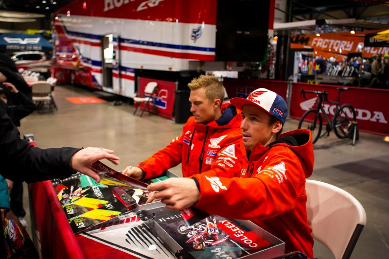 Team Honda HRC Sidelined from Seattle Supercross