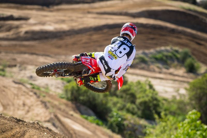 Christian Craig to Ride Salt Lake City Supercross for Team Honda HRC