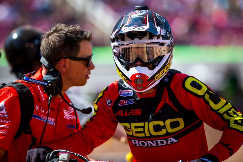Craig Makes Team Honda HRC debut in Utah