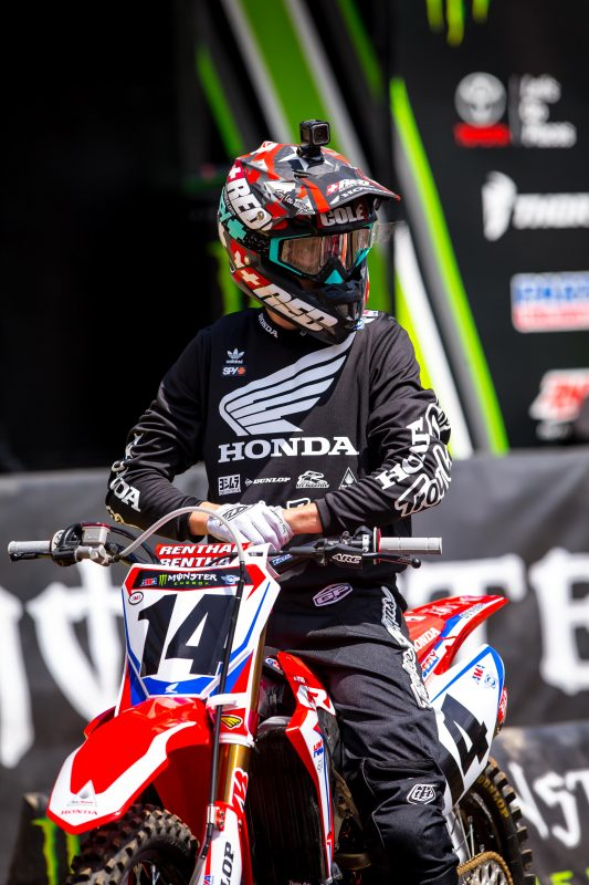 Seely Out for Las Vegas Supercross Finale, Craig in for Team Honda HRC