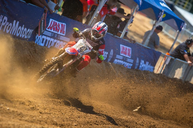 Seely Finishes Seventh Overall at Red Bud National
