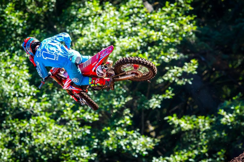 Seely Matches Career-Best 450MX Finish at Washougal