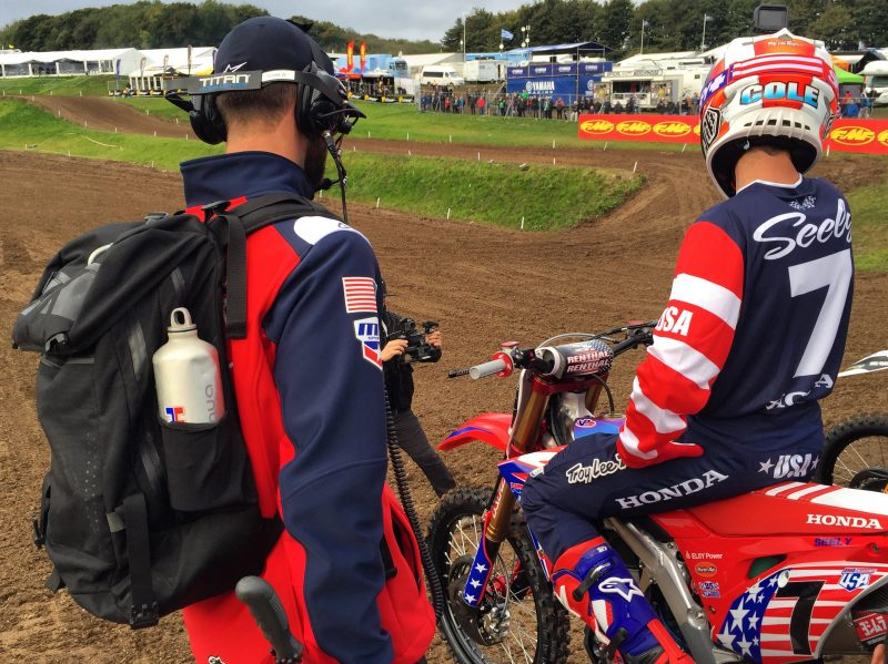 Team Honda HRC Addresses Motocross of Nations Shock Failure