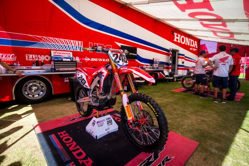 Tough Night for Team Honda HRC at Monster Energy Cup