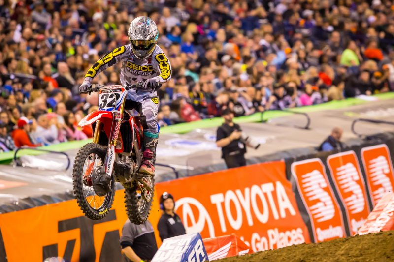 Tough Night for Craig in Indianapolis, Brayton Third