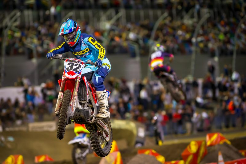 Christian Craig to Continue with Team Honda HRC During AMA Pro Motocross Series