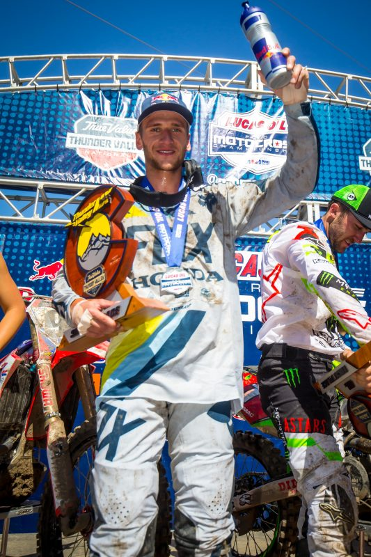 Roczen Impresses with Second Overall at Thunder Valley National