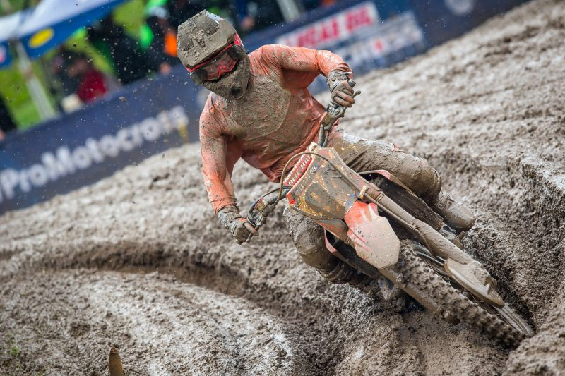 Wet Weekend for Roczen at Unadilla National