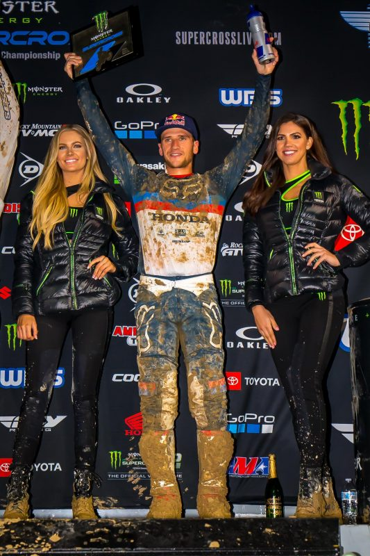 Podium Finish for Roczen at Demanding San Diego Supercross