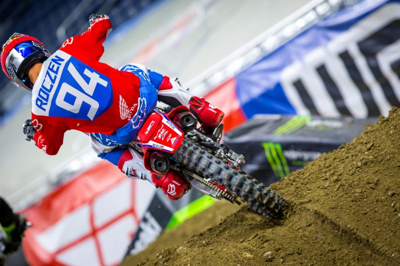 Roczen Fourth Overall at Detroit Triple Crown Supercross