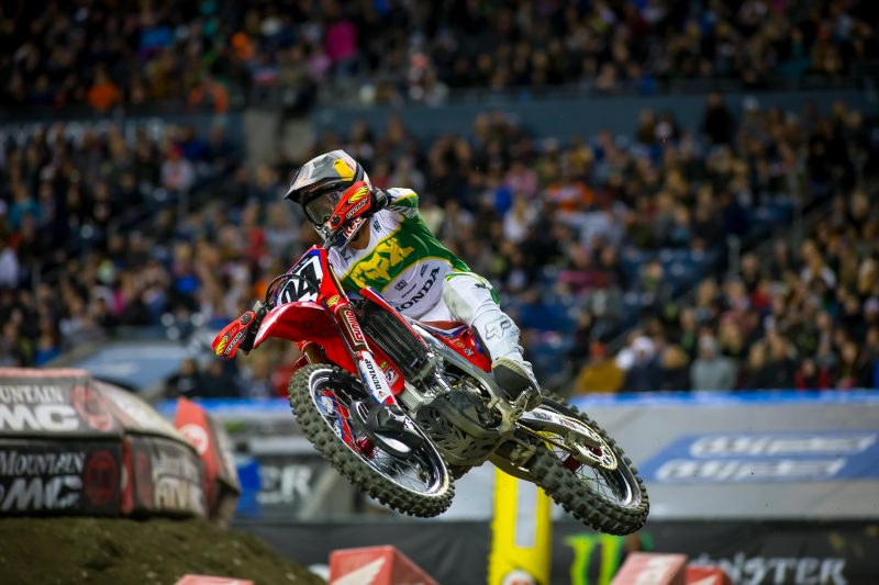 Second-place finish for Roczen at Seattle Supercross