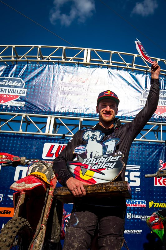 Another Impressive Pro Motocross Victory for Roczen at Thunder Valley National