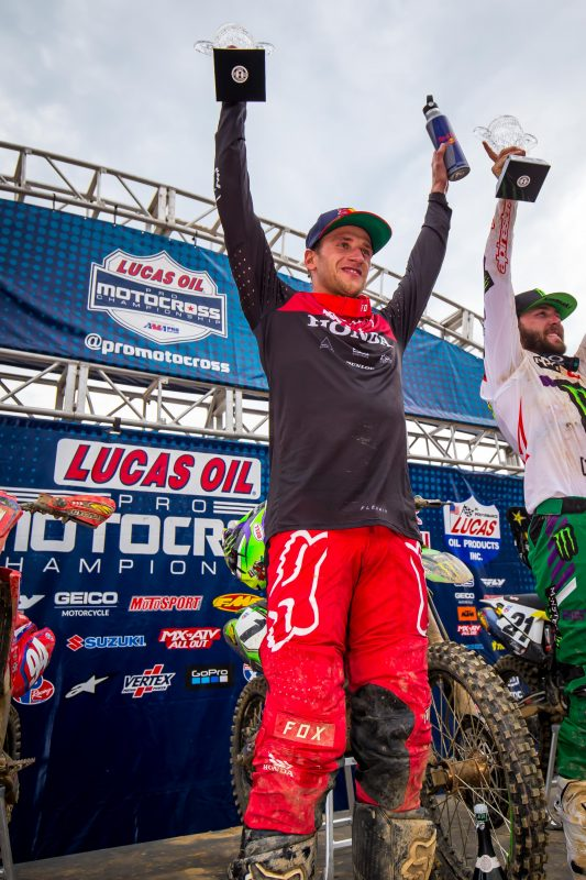 Roczen Secures Second Overall at High Point National