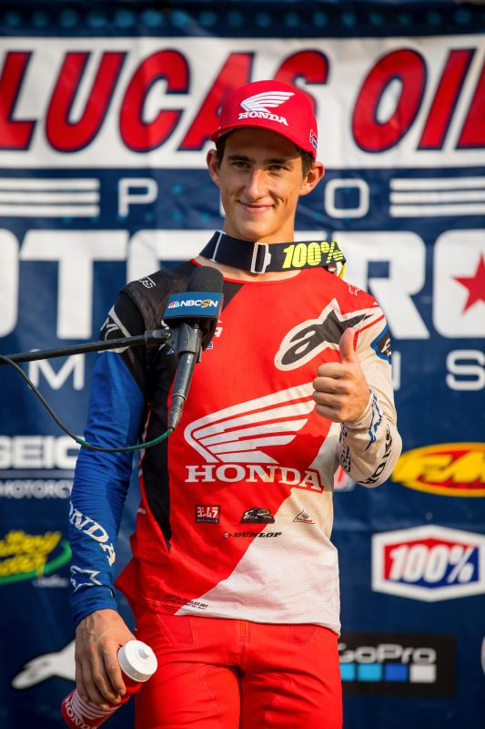 Fourth and Seventh Overall for Sexton, Craig at Spring Creek National MX