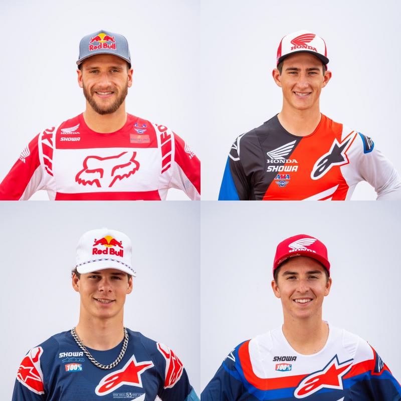 Team Honda HRC Announces Four-Rider Roster for 2021