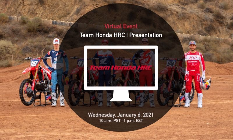 Save the Date: Team Honda HRC 2021 Virtual Presentation