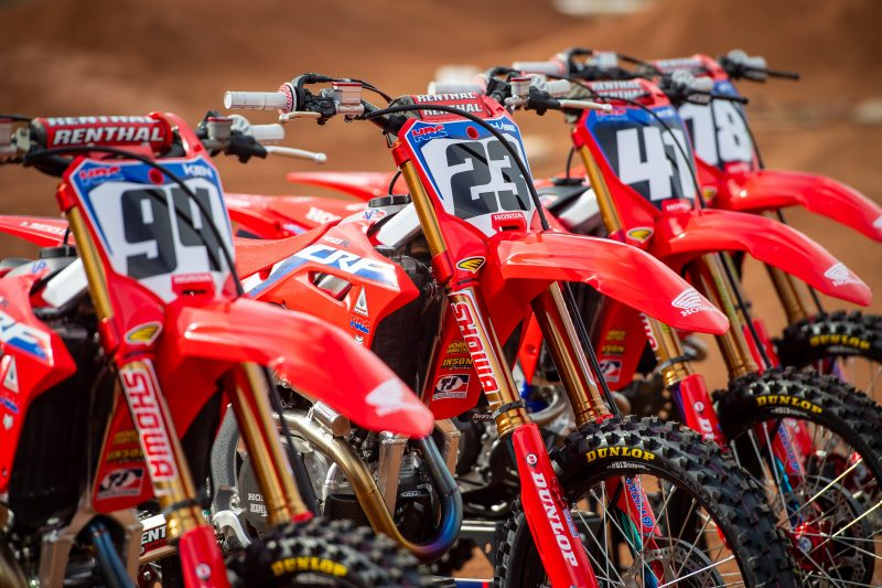 American Honda Presents Factory Supercross Squad