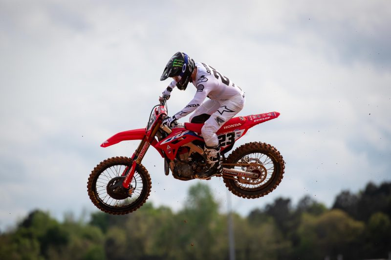 Career-First 450SX Podium for Sexton at Atlanta 1 Supercross