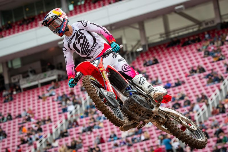 Second-Place Finish for Lawrence at Salt Lake City 1 Supercross