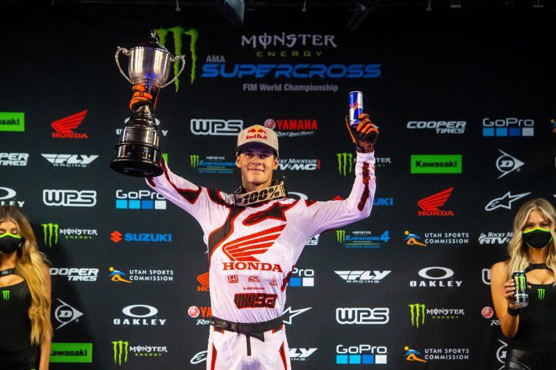 Jett Lawrence Wins 250SX East/West Showdown