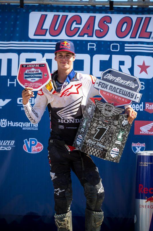 Lawrence Wins at Fox Raceway I AMA Pro Motocross Opener