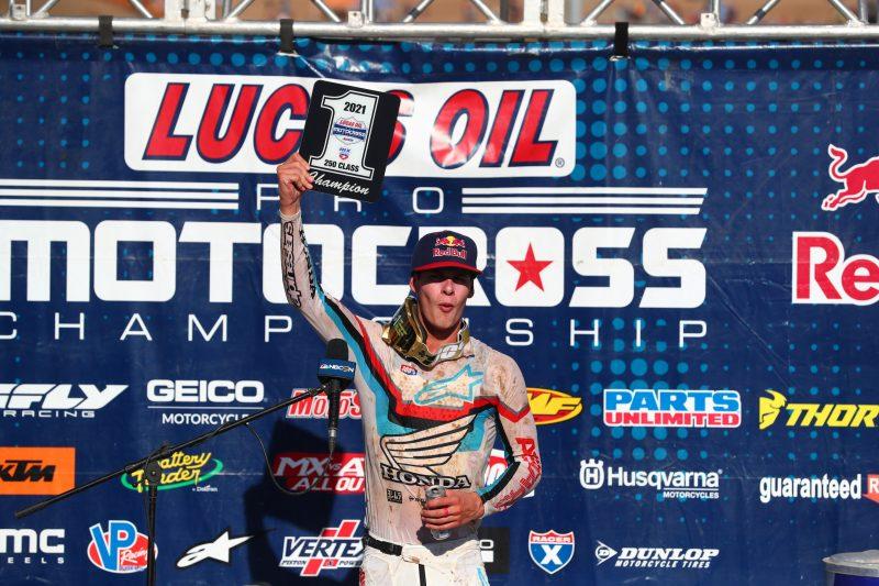 BREAKING NEWS: Jett Lawrence Secures AMA Pro Motocross 250MX Championship